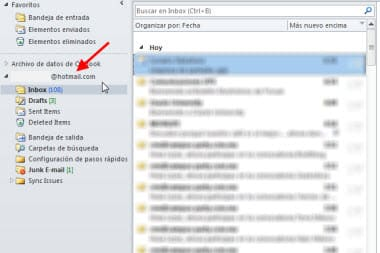 hotmail outlook 2010