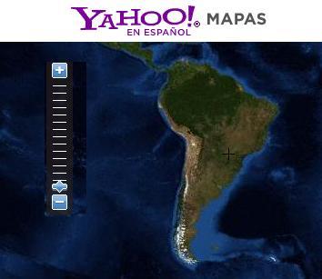 yahoo mapas