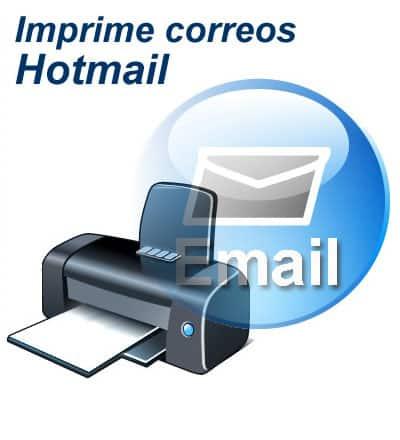 Imprimir correos Hotmail