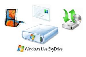 SkyDrive aplicaciones